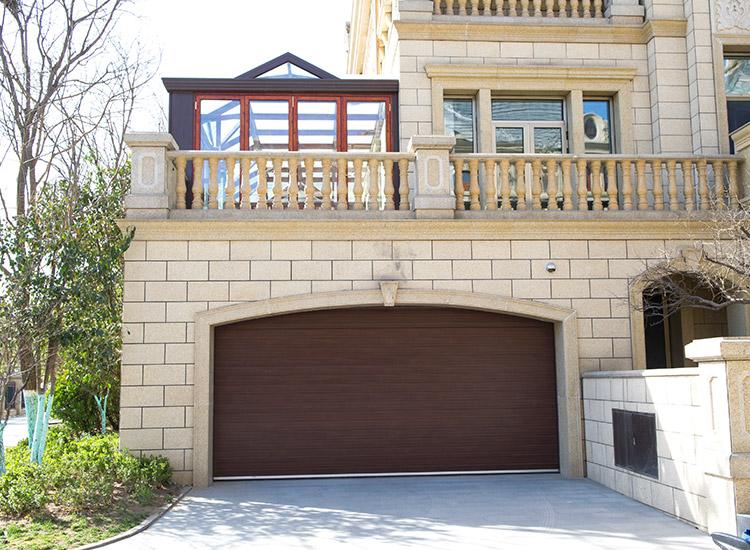 别墅高端车库门安装案例