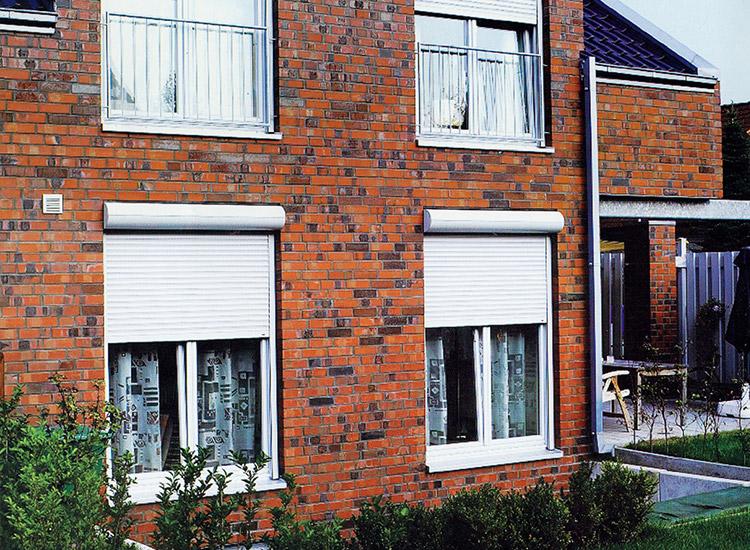 卷帘防护窗案例